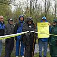 Galena Brickyard Trail dedication